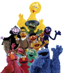 Sesame Street Muppets Group